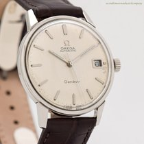 Omega Steel Automatic Silver No numerals 34mm pre-owned Genève