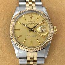 Rolex 16013 Zlato/Zeljezo 1983 Datejust 36mm rabljen