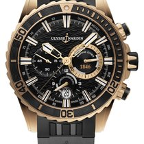 Ulysse Nardin Diver Chronograph Rose gold 44mm Black United States of America, Florida, Sunny Isles Beach