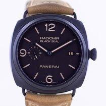 Panerai Radiomir Black Seal 3 Days Automatic Ceramic 45mm Black Arabic numerals