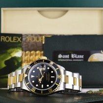 Rolex Submariner gebraucht 40mm Schwarz