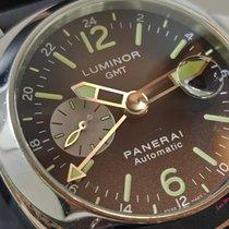 Panerai Luminor GMT Automatic Steel 44mm Black Arabic numerals Malaysia, Kuala Lumpur