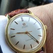 Omega 165.002 Gold/Steel 1965 Seamaster 34mm pre-owned