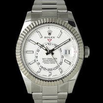 Rolex Sky-Dweller Gold/Steel 43mm Silver
