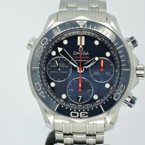 Omega Seamaster Diver 300 M new Automatic Chronograph Watch only 212.30.42.50.03.001