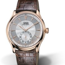 Oris Artelier Small Second 01 396 7580 6051-SET pre-owned