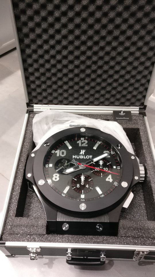 Hublot Big Bang Ferrari Wall Clock Limited Edition Sold