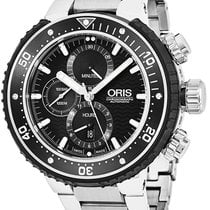 Oris ProDiver Chronograph Titanium Black United States of America, New York, Brooklyn