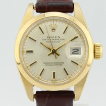 Rolex Oyster Perpetual Datejust Automatic 18k Gold Lady 6916