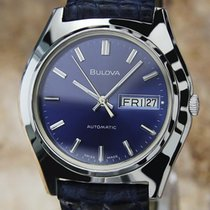 Bulova N8 Swiss Made Men's Vintage Automatic Day Date Watch...