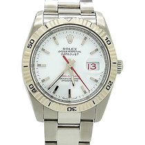 Rolex Datejust Turn-o-graph 36mm 116264 18k White Gold & Steel...