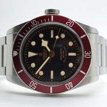 Tudor Heritage Black Bay Red LC100 Stahlband
