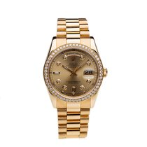 Rolex Day-Date 36 Yellow gold 36mm Gold Roman numerals United States of America, Arizona, Tempe