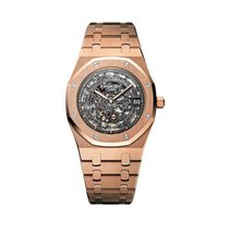 Audemars Piguet Royal Oak Selfwinding Or rose 39mm Transparent