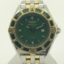 Breitling Lady J Steel 32mm Green No numerals