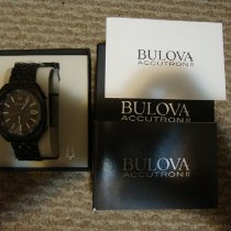 Bulova Steel 44mm Quartz 98B219 new Canada, Calgary
