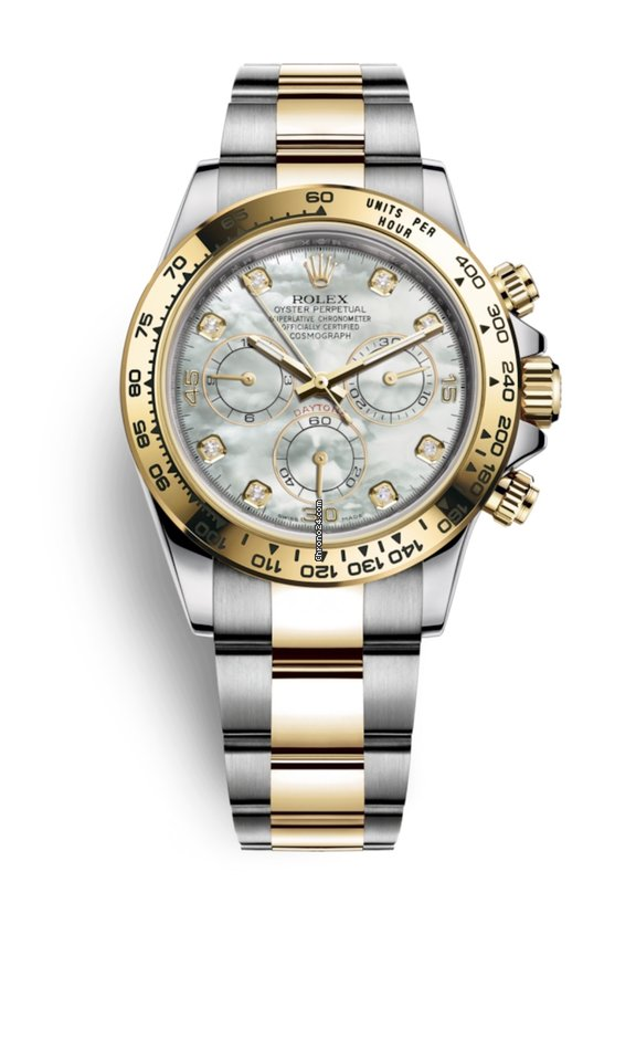 Rolex Daytona 116503 NEW 2019 Mother of Pearl Diamond Dial