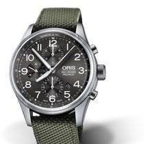 Oris Big Crown ProPilot Chronograph Steel 44mm Black Arabic numerals
