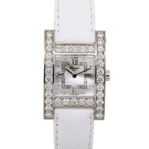 Chopard White gold Quartz Mother of pearl Roman numerals 24.5mm pre-owned Your Hour