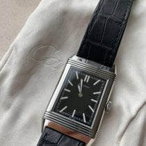 Jaeger-LeCoultre Grande Reverso Ultra Thin 1931 Otel Negru Fara cifre