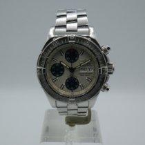 Breitling Superocean Chronograph II Acero 42mm Plata Sin cifras