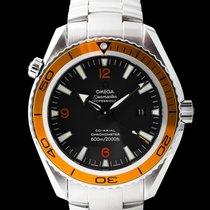 歐米茄 Seamaster Planet Ocean 鋼 45mm 黑色