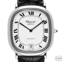 Chopard Steel Automatic White Roman numerals 35.4mm pre-owned Classic