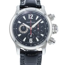Jaeger-LeCoultre Master Compressor Chronograph 2 pre-owned 42mm Black Leather