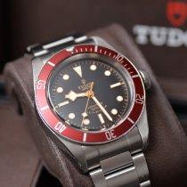 Tudor Black Bay pre-owned 41mm Black Steel