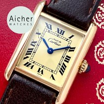 Cartier Tank Vermeil Steel 20mm
