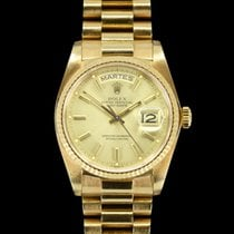 Rolex 18038 Or jaune 1982 Day-Date 36 36mm occasion France, Paris