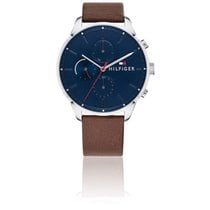 Tommy Hilfiger Steel Quartz Blue 44mm new