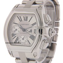 Cartier Roadster Steel 48mm White Roman numerals