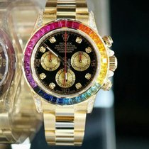 Rolex Daytona Rainbow Aftermarket Diamonds Watch