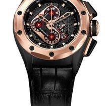 Cvstos Challenge-R50 HF Concept Men's Watch, Black Steel with...