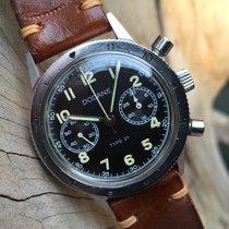 Dodane 1960 Type 21 Flyback Chronograph Military Unpolished