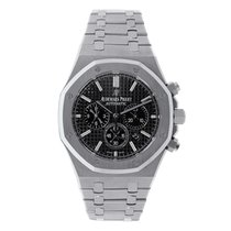 オーデマピゲ Royal Oak Chronograph 41mm Steel Black Dial Watch