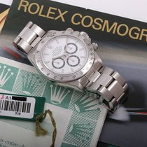 Rolex Daytona 16520 White Dial Mark IV Box & Papers