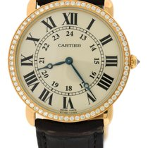 Cartier Rose gold Manual winding 36mm pre-owned Ronde Louis Cartier