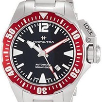Hamilton Khaki Navy Frogman Steel 42mm Black