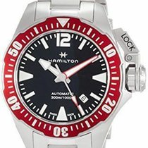 Hamilton Khaki Navy Frogman new Automatic Watch with original box and original papers H77725135