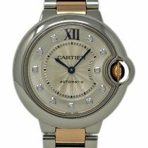 Cartier Ballon Bleu 33mm pre-owned 33mm Silver Gold/Steel