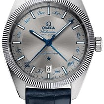 Omega Globemaster Steel 41mm Grey No numerals United States of America, New York, New York