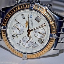 Breitling Windrider Gold/Steel 43mm Roman numerals United States of America, New York, Greenvale