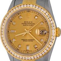 Rolex 16233 Goud/Staal Datejust 35mm tweedehands