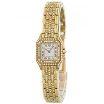 Cartier Panthere 128000 M 18k Yellow Gold Diamond Watch