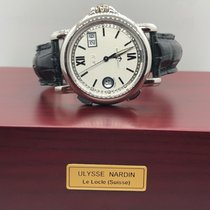 Ulysse Nardin Dual Time pre-owned 40mm Leather