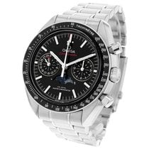 Omega Speedmaster Professional Moonwatch Moonphase 304.30.44.52.01.001 2018 pre-owned