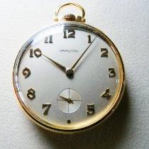 Hamilton Montre de poche occasion 44mm Or jaune 1964