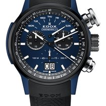 Edox Chronorally 38001TINBU1BUIB1 new